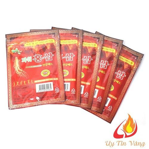 Combo 6 Túi Cao Dán Hồng Sâm Túi Đỏ Power Red Ginseng