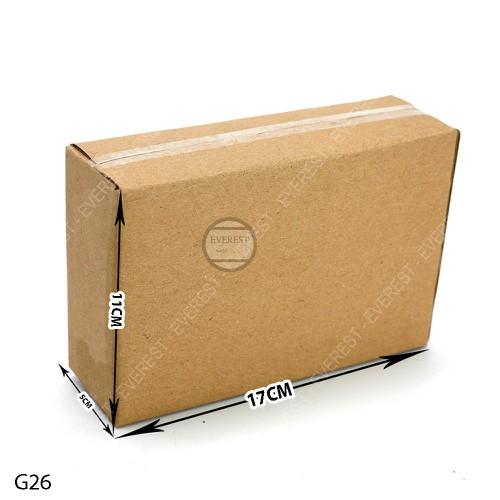 Combo 100 thùng carton G26-17x5x11 thùng giấy gói hàng - 7975700 , 17644503 , 15_17644503 , 190000 , Combo-100-thung-carton-G26-17x5x11-thung-giay-goi-hang-15_17644503 , sendo.vn , Combo 100 thùng carton G26-17x5x11 thùng giấy gói hàng