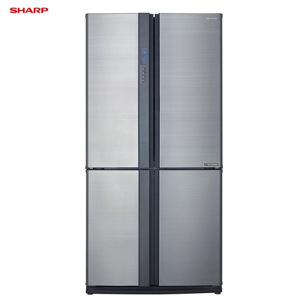Tủ lạnh 4 cánh Sharp SJ-FX631V-SL