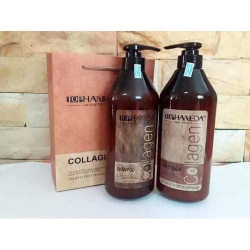 Cặp dầu gội xã haneda collagen 500ml siêu phục hồi tóc yếu hư tổn - 7971118 , 17640703 , 15_17640703 , 420000 , Cap-dau-goi-xa-haneda-collagen-500ml-sieu-phuc-hoi-toc-yeu-hu-ton-15_17640703 , sendo.vn , Cặp dầu gội xã haneda collagen 500ml siêu phục hồi tóc yếu hư tổn