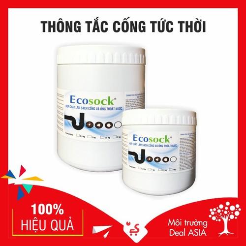 ECOSOCK - Xử Lý Thông Tắc TỨC THỜI, Phân Hủy Tóc, Dầu Mỡ, Thức Ăn Thừa, Chất Thải Hữu Cơ Và Cặn Bã - 7998909 , 17677777 , 15_17677777 , 355000 , ECOSOCK-Xu-Ly-Thong-Tac-TUC-THOI-Phan-Huy-Toc-Dau-Mo-Thuc-An-Thua-Chat-Thai-Huu-Co-Va-Can-Ba-15_17677777 , sendo.vn , ECOSOCK - Xử Lý Thông Tắc TỨC THỜI, Phân Hủy Tóc, Dầu Mỡ, Thức Ăn Thừa, Chất Thải Hữu Cơ