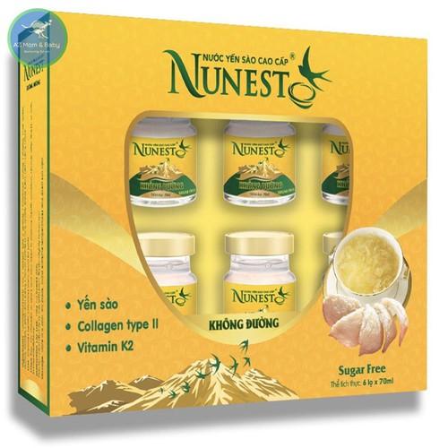 Hộp yến sào cao cấp collagen vitamin K2 không đường Nunest 6 lọ x 70ml - 11570173 , 17679896 , 15_17679896 , 315000 , Hop-yen-sao-cao-cap-collagen-vitamin-K2-khong-duong-Nunest-6-lo-x-70ml-15_17679896 , sendo.vn , Hộp yến sào cao cấp collagen vitamin K2 không đường Nunest 6 lọ x 70ml