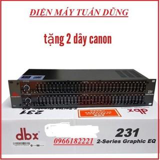 Lọc xì dbx 231 tặng 2 DÂY CANON - lọc xì âm thanh - dbx 231. thumbnail