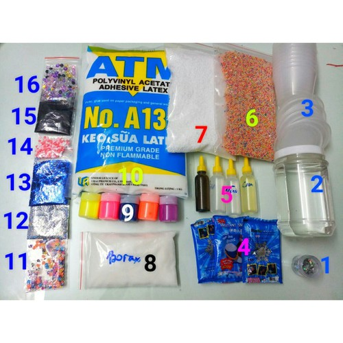 Combo - Bộ Kit Bắt Đầu Làm Slime - Starter Slime Kit - 4910930 , 17689473 , 15_17689473 , 310000 , Combo-Bo-Kit-Bat-Dau-Lam-Slime-Starter-Slime-Kit-15_17689473 , sendo.vn , Combo - Bộ Kit Bắt Đầu Làm Slime - Starter Slime Kit