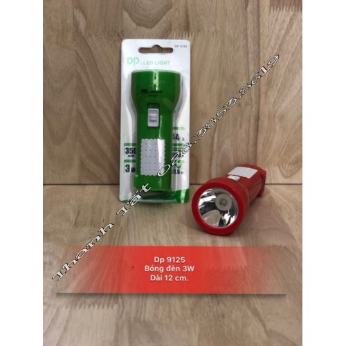 Đèn Pin Sạc Cầm Tay Nhỏ Dp 9125