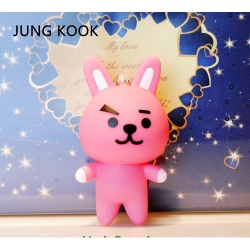 Móc khóa để hình Jungkook