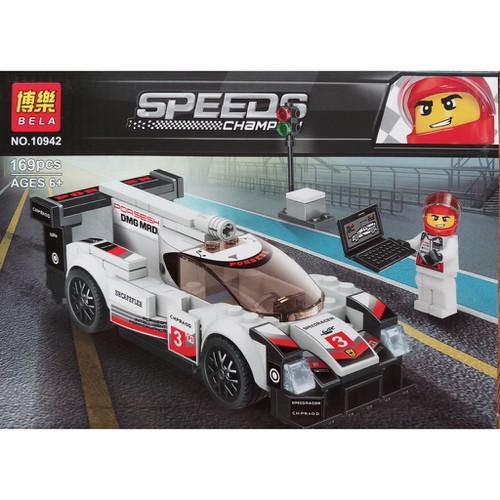 Đồ chơi xếp hình xe đua tốc độ 10942 - 169PCS