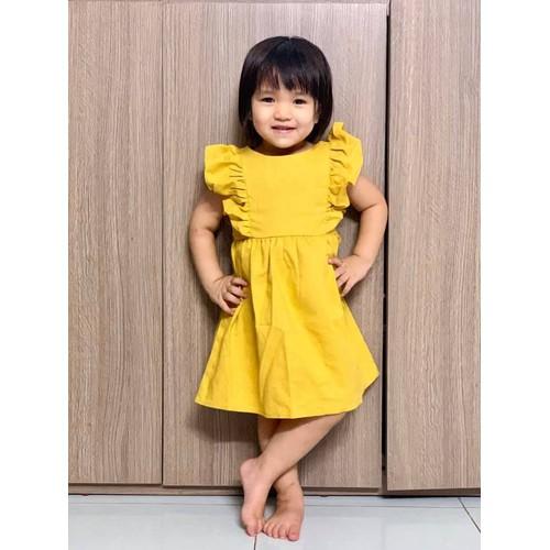 Váy cho bé gái - Poem Linen