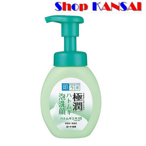 Sữa rửa mặt tạo bọt Hada Labo Gokujyun Hatomugi Bubble Face Wash 160ml *Có quà tặng - 7999397 , 17678586 , 15_17678586 , 220000 , Sua-rua-mat-tao-bot-Hada-Labo-Gokujyun-Hatomugi-Bubble-Face-Wash-160ml-Co-qua-tang-15_17678586 , sendo.vn , Sữa rửa mặt tạo bọt Hada Labo Gokujyun Hatomugi Bubble Face Wash 160ml *Có quà tặng