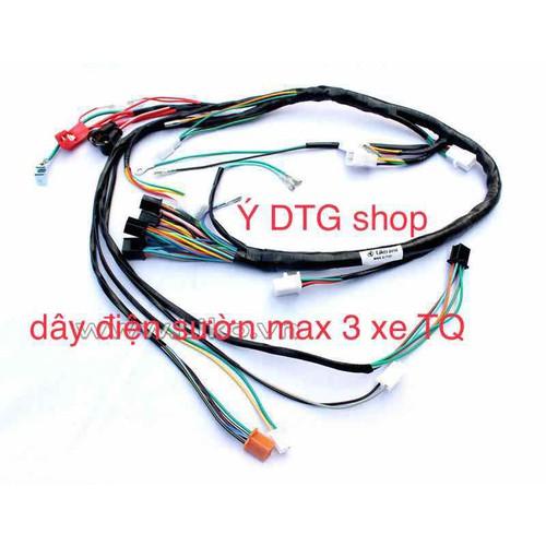 dây điện sườn xe max 3 xe TQ