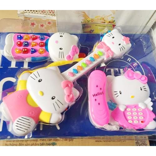 Đồ chơi Đàn Hello Kitty - Đồ chơi âm nhạc