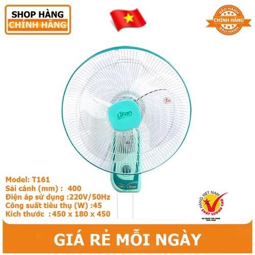 Quạt treo tường Lifan T-161 - hàng chính hãng - 8004607 , 17684978 , 15_17684978 , 385000 , Quat-treo-tuong-Lifan-T-161-hang-chinh-hang-15_17684978 , sendo.vn , Quạt treo tường Lifan T-161 - hàng chính hãng