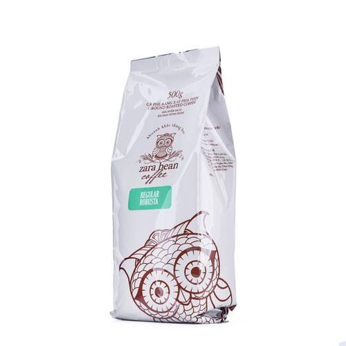 Cà phê pha phin Robusta Regular túi 500gr