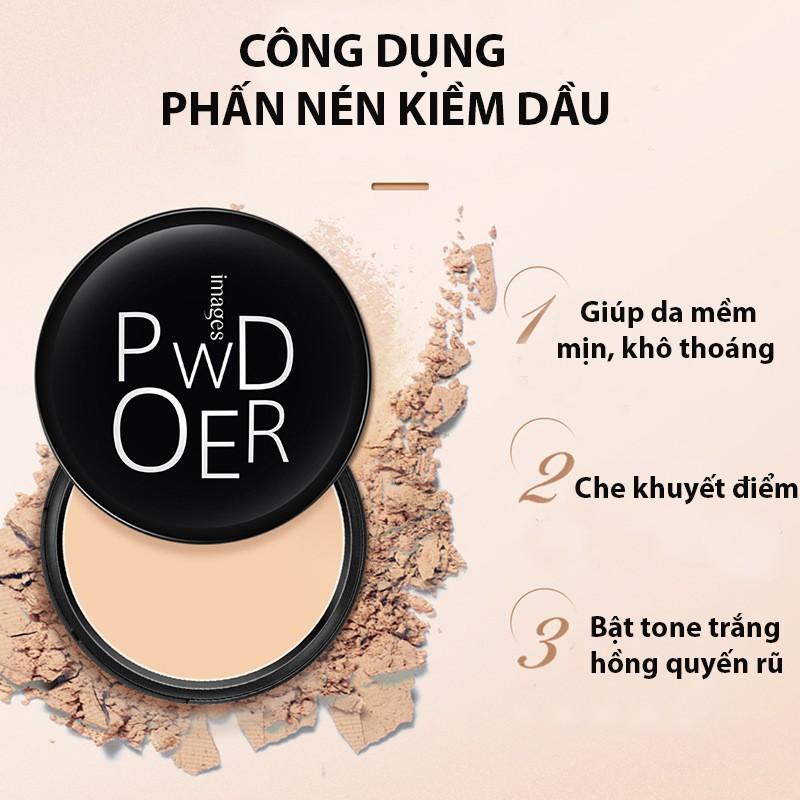 CHÍNH HÃNG] Phấn phủ kiềm dầu siêu mịn IMAGES Powder phấn nền phấn nén phấn  che khuyết điểm PP05 - P34567 | Sàn thương mại điện tử của khách hàng  Viettelpost