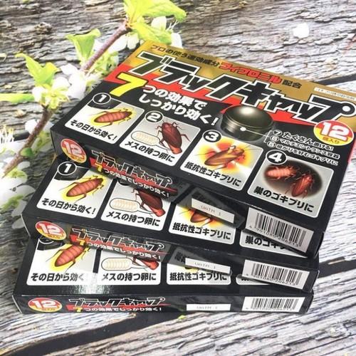 Thuốc diệt gián Nhật Bản hộp 12 viên - 4714910 , 17671195 , 15_17671195 , 132000 , Thuoc-diet-gian-Nhat-Ban-hop-12-vien-15_17671195 , sendo.vn , Thuốc diệt gián Nhật Bản hộp 12 viên