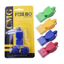 Còi thể thao còi trọng tài còi hiệu cứu hộ bằng nhựa ABS an toàn FOX80