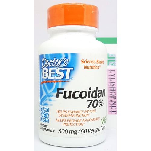 Viên uống Best Fucoidan 70 chai 60 viên hãng Doctor's Best của Mỹ