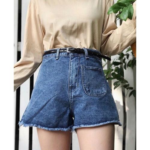 quần short jean nữ siting