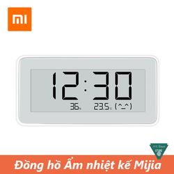 Đồng hồ nhiệt ẩm kế Xiaomi Mijia - Đồng hồ tích hợp nhiệt độ và độ ẩm Mijia Smart Digital Clock - Smart Digital Clock