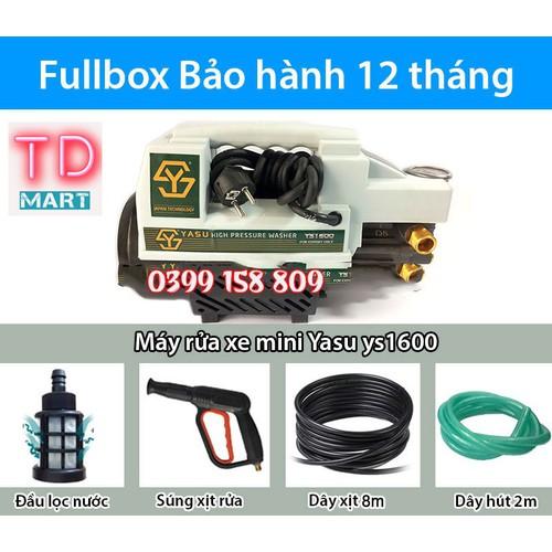 Máy Xịt Rửa - Máy rửa Xe Mini yasu 1600W công nghệ nhật bản - 4717788 , 17690089 , 15_17690089 , 1339000 , May-Xit-Rua-May-rua-Xe-Mini-yasu-1600W-cong-nghe-nhat-ban-15_17690089 , sendo.vn , Máy Xịt Rửa - Máy rửa Xe Mini yasu 1600W công nghệ nhật bản