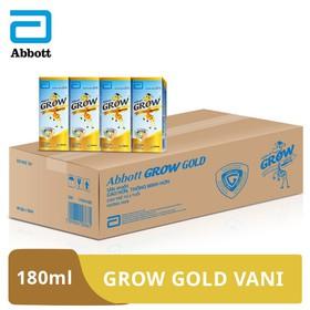 Thùng 48 hộp sữa nước Grow Gold Vani 180ml - GRO021556