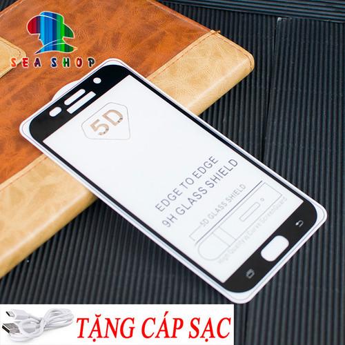 [TẶNG CÁP SẠC] Kính cường lực 5D Samsung Galaxy A7 2016 - A710 full màn hình