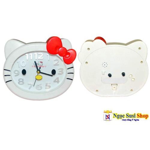 Đồng hồ để bàn báo thức Mèo Kitty nơ đỏ - 7997854 , 17676020 , 15_17676020 , 69000 , Dong-ho-de-ban-bao-thuc-Meo-Kitty-no-do-15_17676020 , sendo.vn , Đồng hồ để bàn báo thức Mèo Kitty nơ đỏ