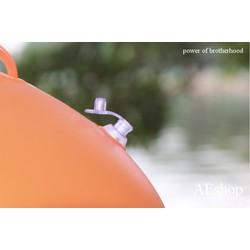 phao bơi biển oval đeo thắt lưng 2 túi khí cho dân bơi chuyên nghiệp