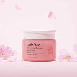 Kem dưỡng ẩm trắng sáng da dạng gel Innisfree Jeju Cherry Blossom Jelly Cream minisize 20ml
