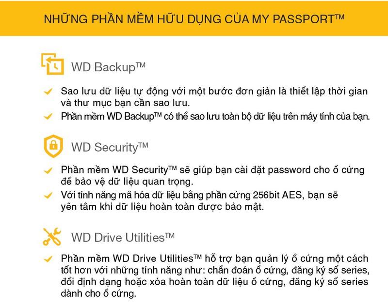 Ổ cứng di động 2TB WD My Passport 7