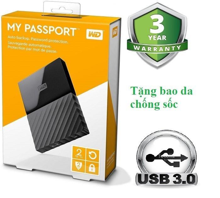 Ổ cứng di động 2TB WD My Passport 1