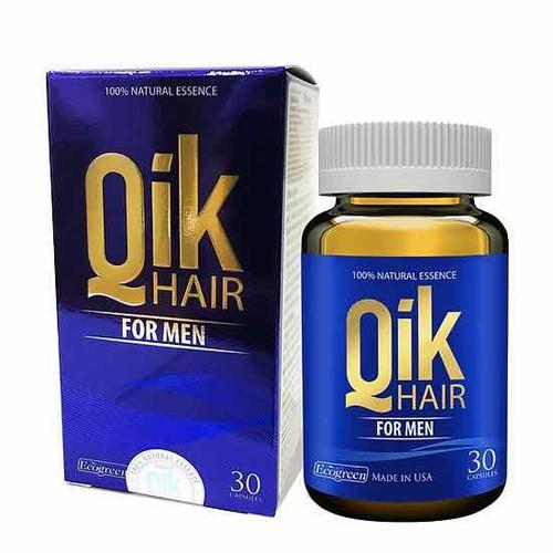 Viên uống Qik hair for men giảm rụng tóc mọc tóc chắc khoẻ