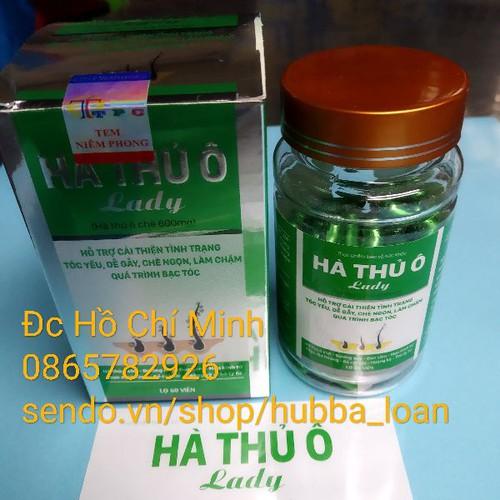 1 Hộp Hà Thủ Ô Lady 60 viên Việt Nam