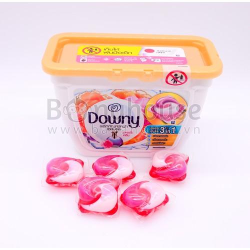 Hộp Viên giặt xả Downy Gel Ball Thái Lan Hồng