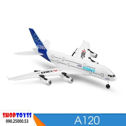Máy Bay Cánh Bằng Điều Khiển Từ Xa Airbus A380 XK A120 - shoptoy - 7595161 , 17699578 , 15_17699578 , 820000 , May-Bay-Canh-Bang-Dieu-Khien-Tu-Xa-Airbus-A380-XK-A120-shoptoy-15_17699578 , sendo.vn , Máy Bay Cánh Bằng Điều Khiển Từ Xa Airbus A380 XK A120 - shoptoy
