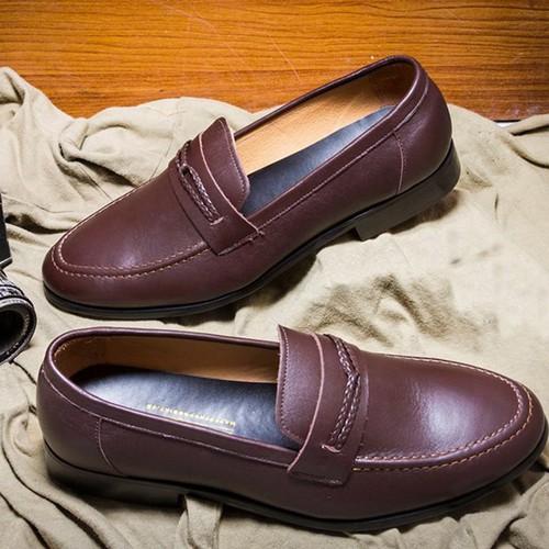 giày loafer - giày lười loafer - giày công sở loafer