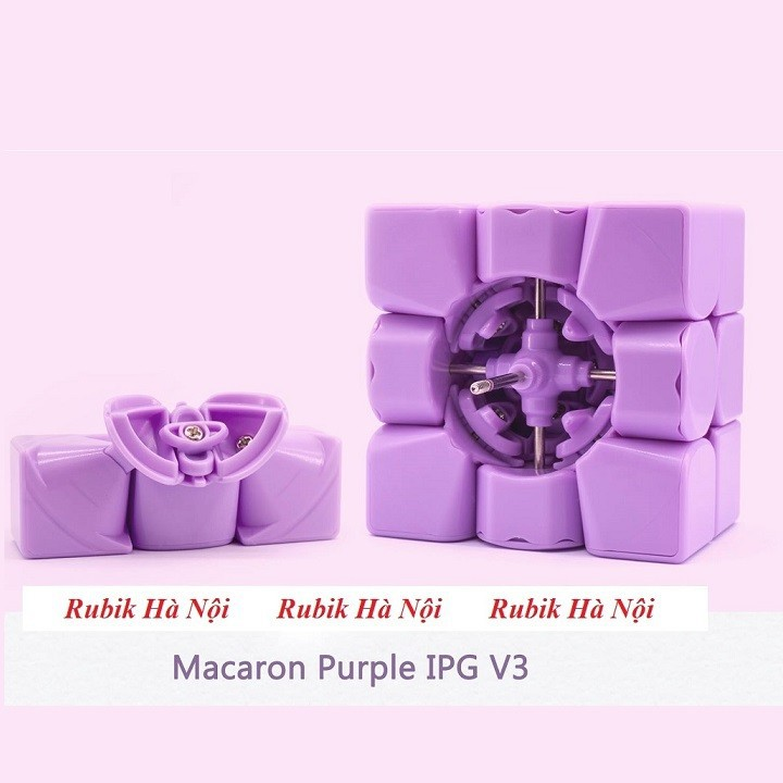 Rubik 3x3 C4U Vuông White Có Nam Châm. Rubik luyện Finger Tri s FT Tốt Nhất [ĐƯỢC KIỂM HÀNG] - SHOPBAN6795VN 3