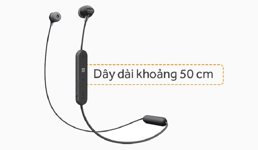Tai Nghe Bluetooth Thể Thao Sony WI-C300