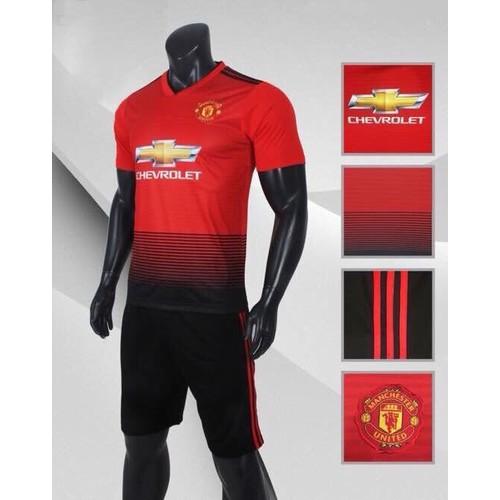 bộ quần áo CLB MU đỏ 2019