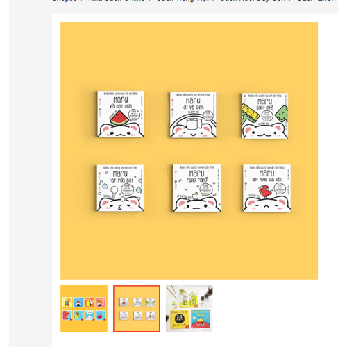 Sách Trẻ Em - Những Mẩu Chuyện Của Maru Và Cảm Xúc - Sách Trẻ Em Từ 0 - 6 Tuổi