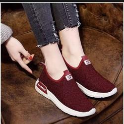 Giày lười nữ phong cách Hàn Quốc