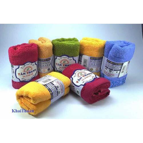 CHUYÊN SỈ: 10 khăn mặt Tân Thanh cao cấp 30x50