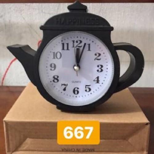 đồng hồ để bàn cái ấm trà 667 - 8049230 , 17715731 , 15_17715731 , 45000 , dong-ho-de-ban-cai-am-tra-667-15_17715731 , sendo.vn , đồng hồ để bàn cái ấm trà 667