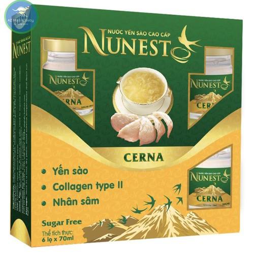Hộp yến sào cao cấp nhân sâm collagen không đường Nunest Cerna 6 lọ x 70ml - 11570865 , 17695274 , 15_17695274 , 315000 , Hop-yen-sao-cao-cap-nhan-sam-collagen-khong-duong-Nunest-Cerna-6-lo-x-70ml-15_17695274 , sendo.vn , Hộp yến sào cao cấp nhân sâm collagen không đường Nunest Cerna 6 lọ x 70ml