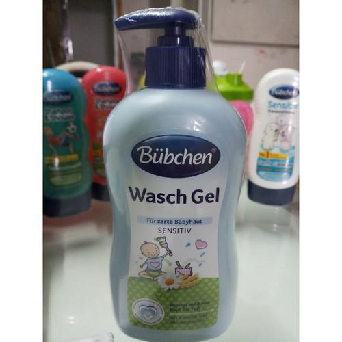 Sữa tắm gội chung dành cho trẻ sơ sinh Bübchen Wasch Gel 400ml - 7595175 , 17699596 , 15_17699596 , 239000 , Sua-tam-goi-chung-danh-cho-tre-so-sinh-Bbchen-Wasch-Gel-400ml-15_17699596 , sendo.vn , Sữa tắm gội chung dành cho trẻ sơ sinh Bübchen Wasch Gel 400ml