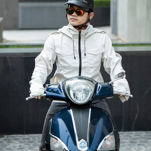 Áo chống nắng nam cao cấp - Vải Kaki mềm mịn, đủ size