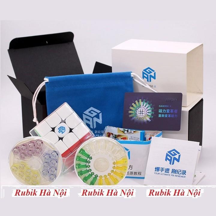 Rubik 3x3 C4U Vuông White Có Nam Châm. Rubik luyện Finger Tri s FT Tốt Nhất [ĐƯỢC KIỂM HÀNG] - SHOPBAN6795VN 1