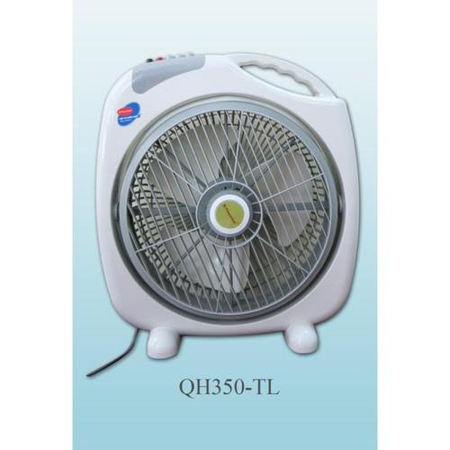 Quạt hộp Vinawind QH300-LP-QH350-LP Cánh 30cm-35cm (Xám)