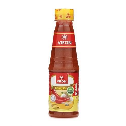 Mười chai Tương ớt Vifon 260g
