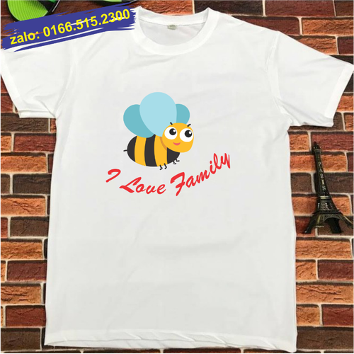 Áo gia đình hình con ong